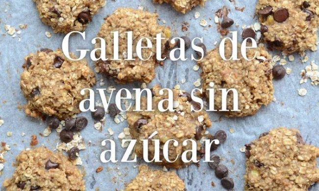 Galletas De Avena Sin Azúcar Galletasdeavenaes